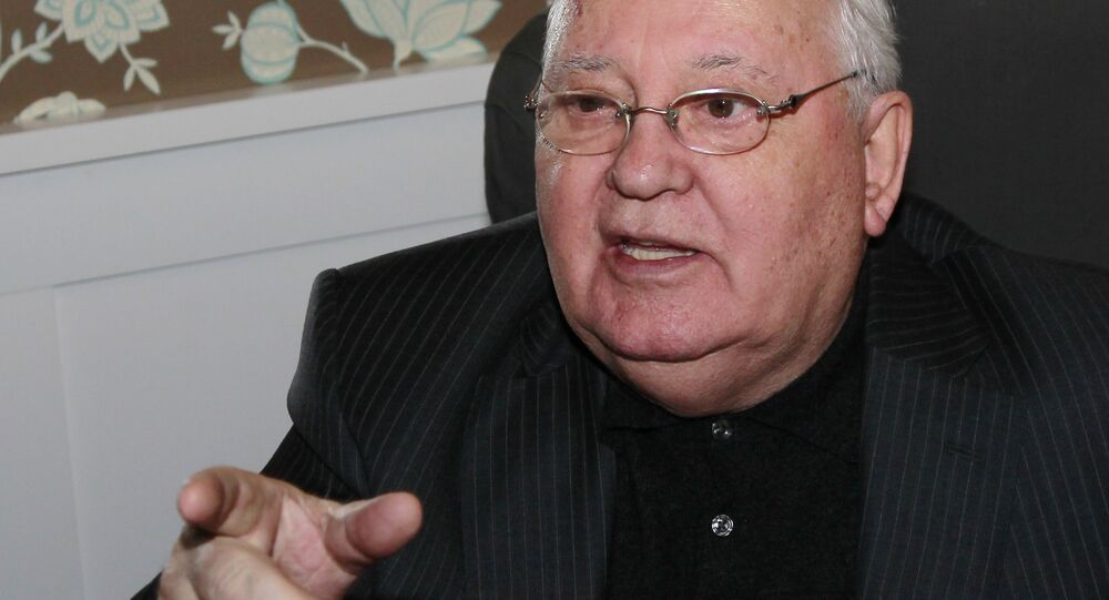 L'ex-président de l'URSS Mikhaïl Gorbatchev