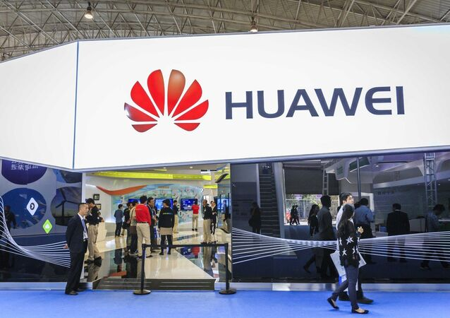 Le stand de Huawei au Salon PT/EXPO China 2014