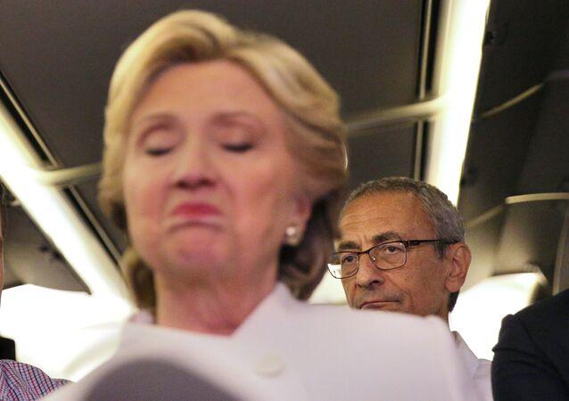 John Podesta et Hillary Clinton