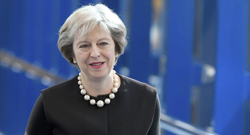 Thérésa May, première ministre britannique