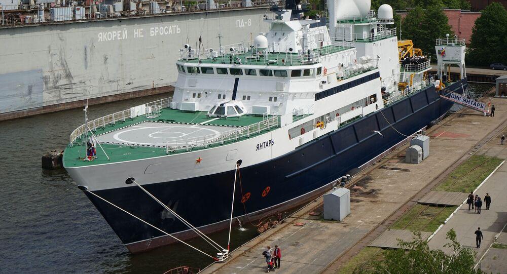 Navire russe Yantar