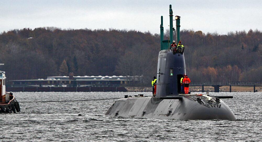 Un sous-marin de la classe Dolphin