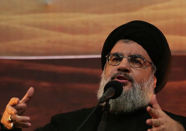 Hassan Nasrallah, chef du Hezbollah