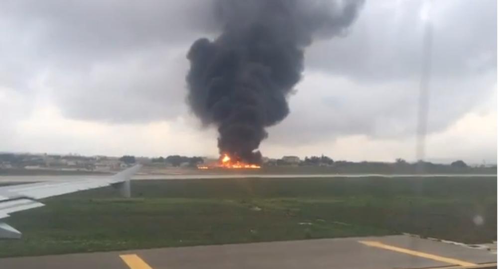 Un avion s'écrase à Malte, cinq morts