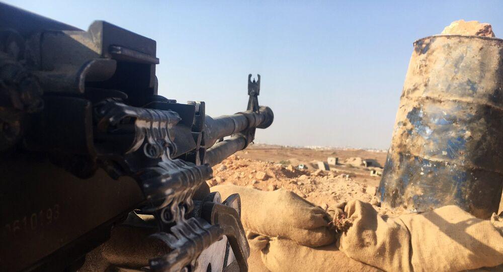 Situation au sud d'Alep