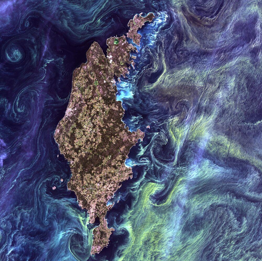 Des clichés uniques de la Terre réalisés depuis l'espace
