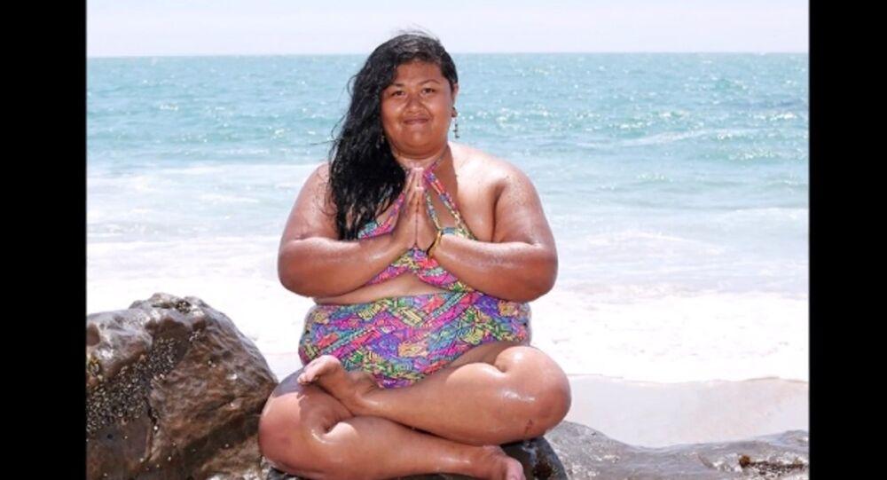 Une pratique du yoga toute en rondeurs