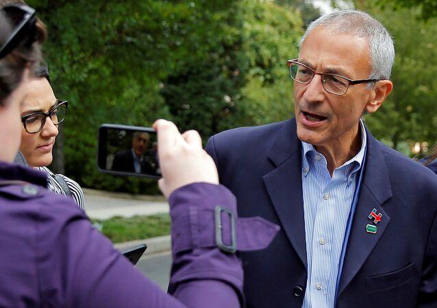 John Podesta, directeur de la campagne électorale d'Hillary Clinton