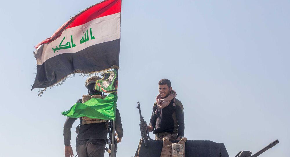 Soldats de l'armée irakienne