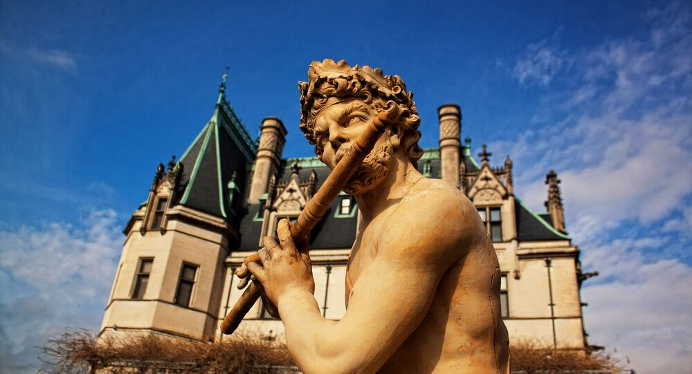 Un joueur de flûte (image d'illustration)