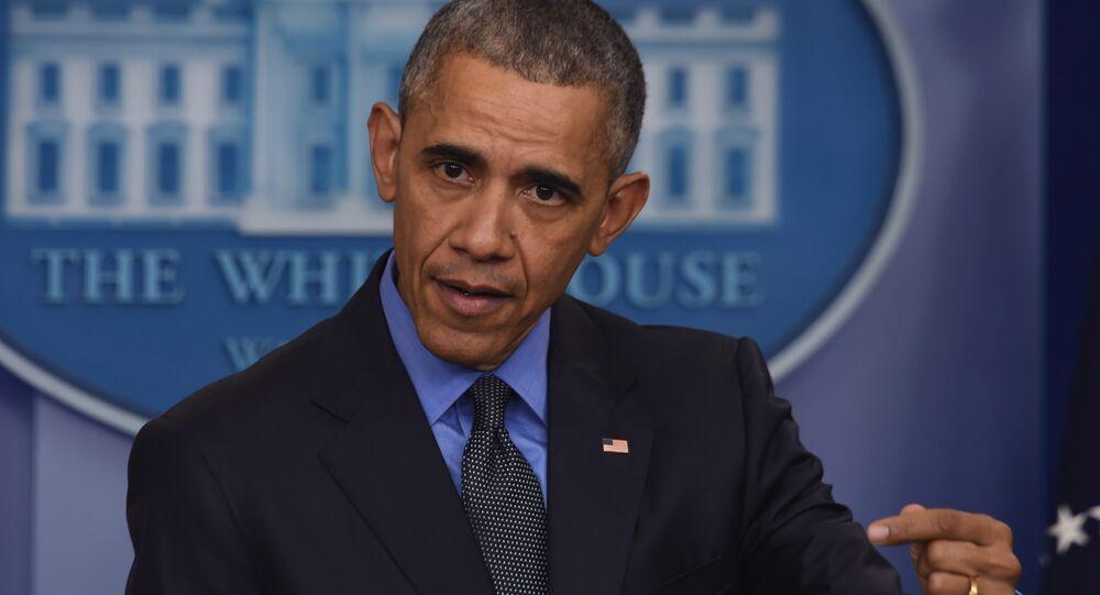 Barack Obama, président américain