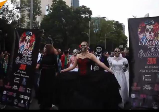 Des zombies dans les rues de Mexico