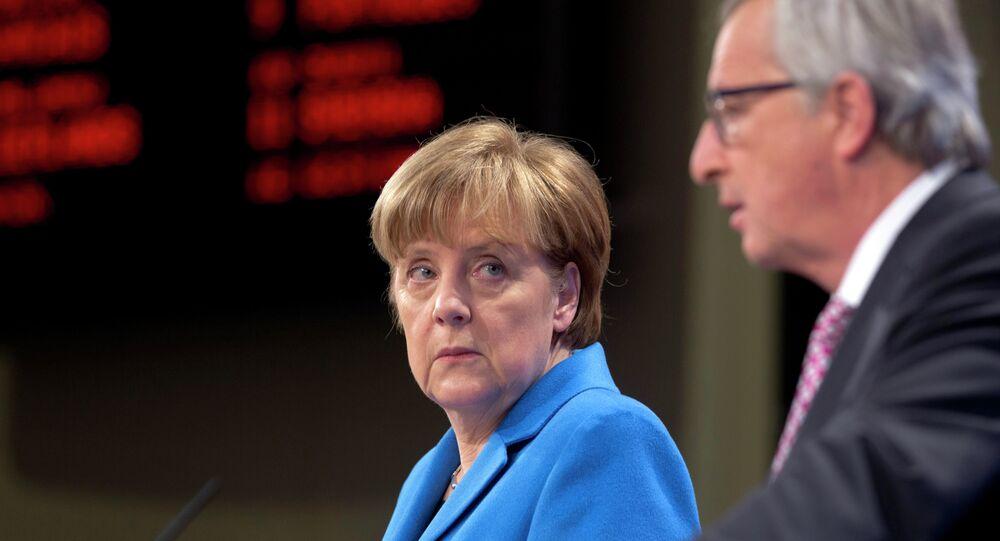 Négociations sur le Brexit: Merkel fâchée contre Juncker