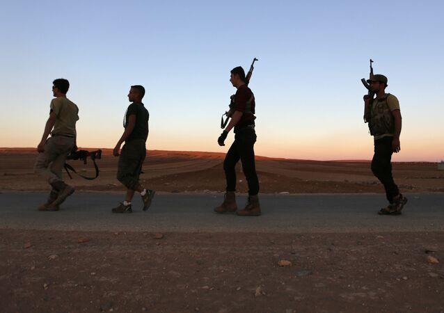 Rebelles en Syrie