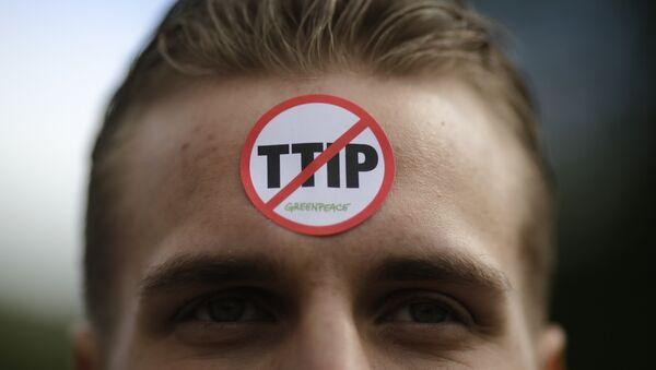 contre le TTIP - Sputnik France