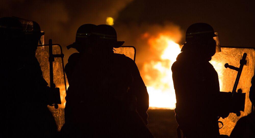 Police à Calais