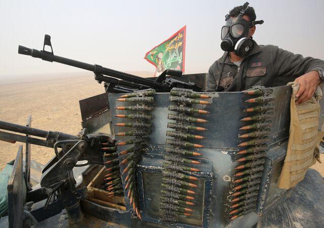 Opération militaire à Mossoul