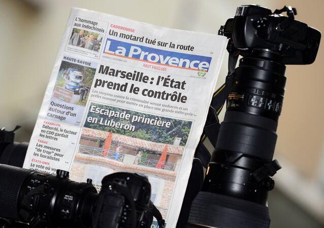 Le quotidien régional La Provence, Septembre 2012