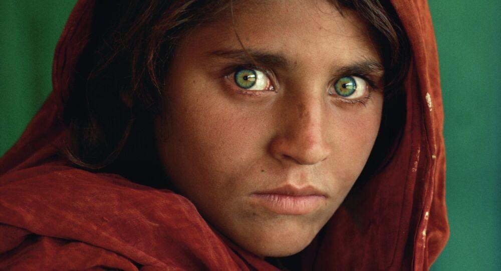 La Joconde afghane par National Geographic