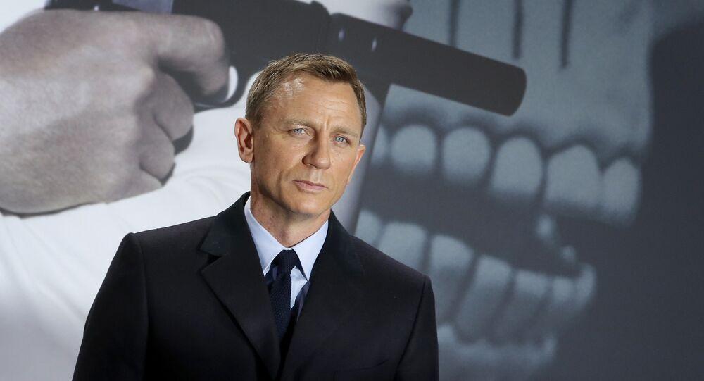 Daniel Craig, acteur de James Bonde