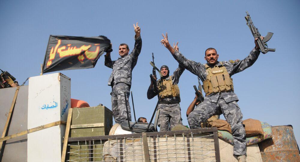 L'armée gouvernementale irakienne lors de l'opération de Mossoul