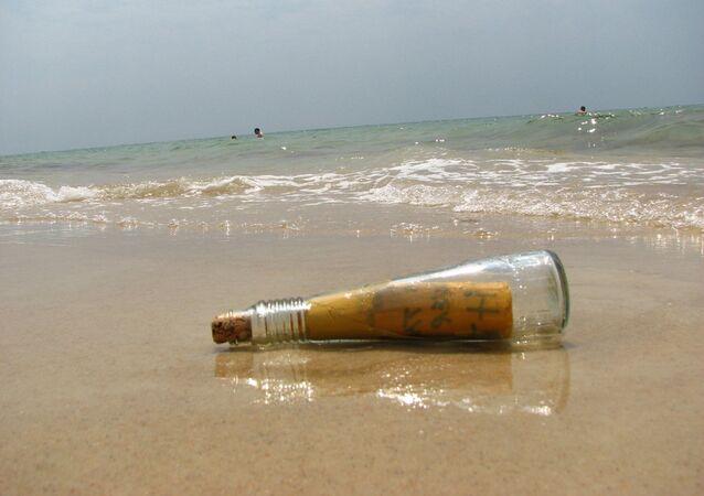 message dans une bouteille