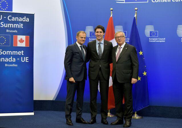 Le Canada et l'UE signent l'accord de libre-échange CETA