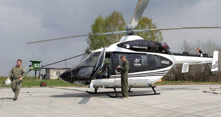 L'hélicoptère léger multifonction Ansat