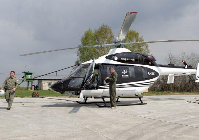 Hélicoptère d'entraînement Ansat