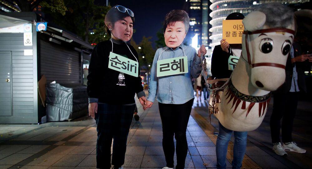 Les conseillers trop spéciaux de la présidente sud-coréenne