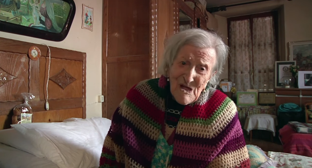 la plus vieille femme du monde
