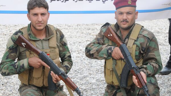 La milice chiite Hachd al-Chaabi  - Sputnik France
