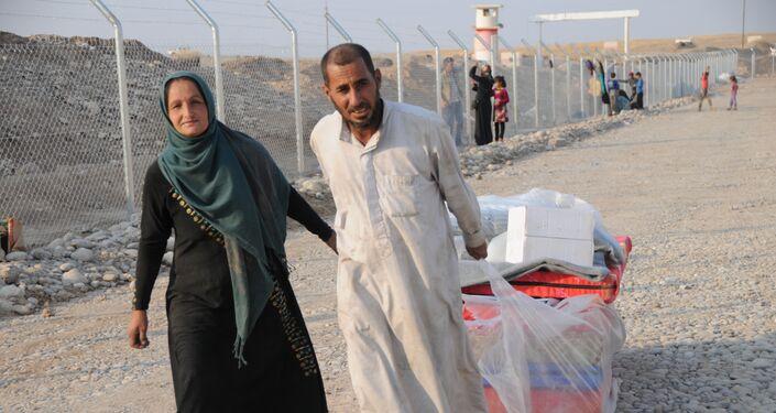 Les habitants de Mossoul quittent la ville