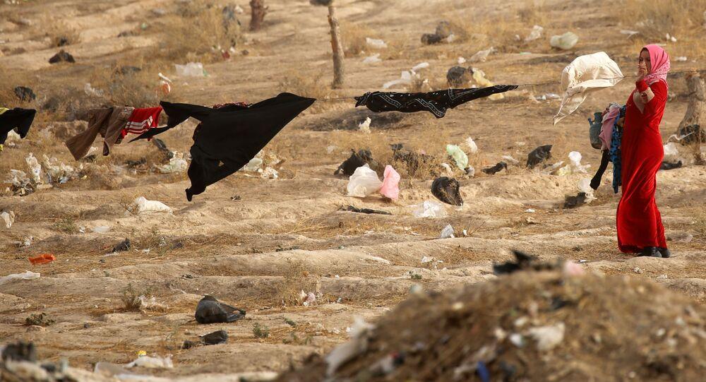 Le camp de réfugiés d'al-Hol