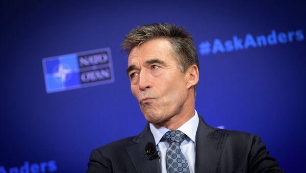 L'ex-secrétaire général de l'Otan Anders Fogh Rasmussen - Sputnik France