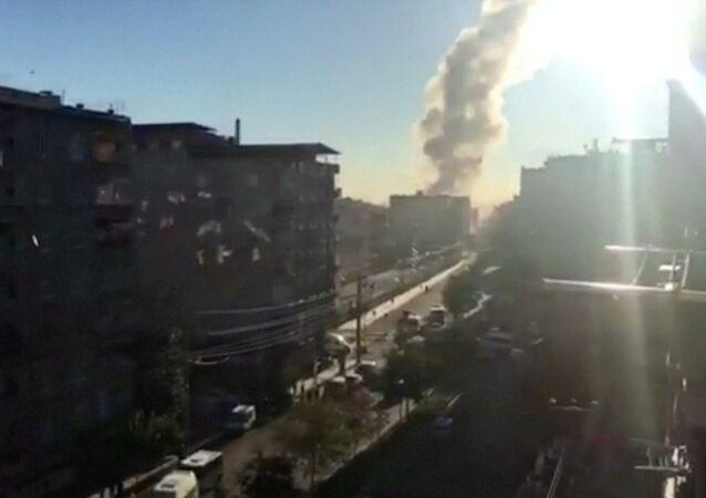Turquie: une puissante explosion frappe le centre de Diyarbakir