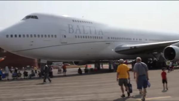 Un des deux Boeing-747 de Baltic AirLines - Sputnik France