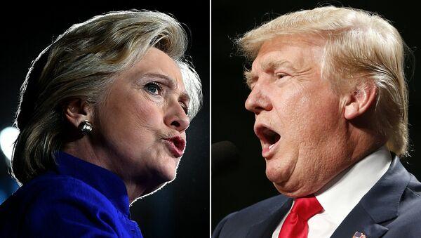 Hillary Clinton vs Donald Trump - Sputnik France