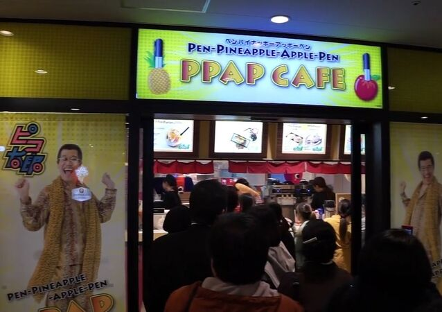 Un Pen-Pineapple-Apple-Pen café