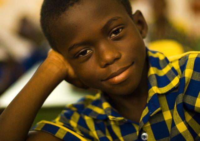 Un petit Ghanéen