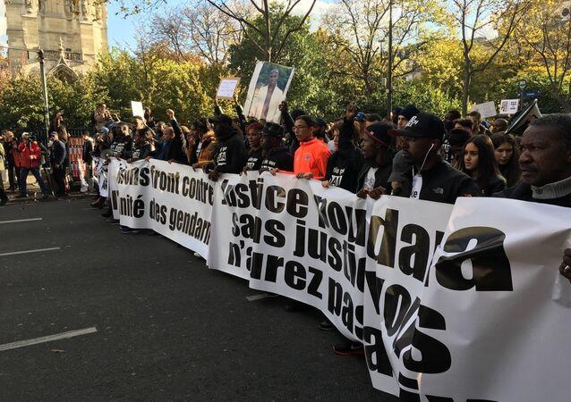 Marche pour Adama Traoré à Paris (2016)