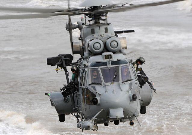 L'hélicoptère à portance moyenne H225M d'Airbus