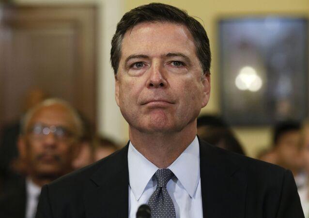 Le directeur du FBI James Comey. Archive photo