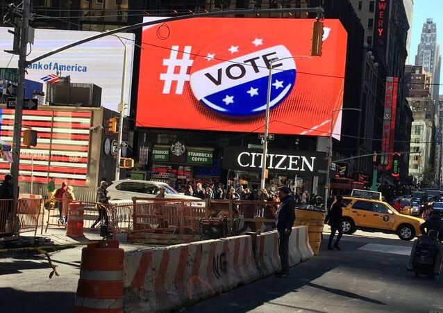 Les Americains ont hâte de voter: un nouveau record d'électeurs battu