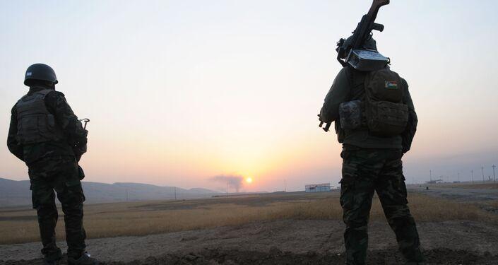 Les Peshmergas libèrent le village de Bachika près de Mossoul