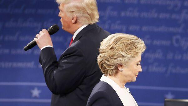 Hillary Clinton et Donald Trump - Sputnik France
