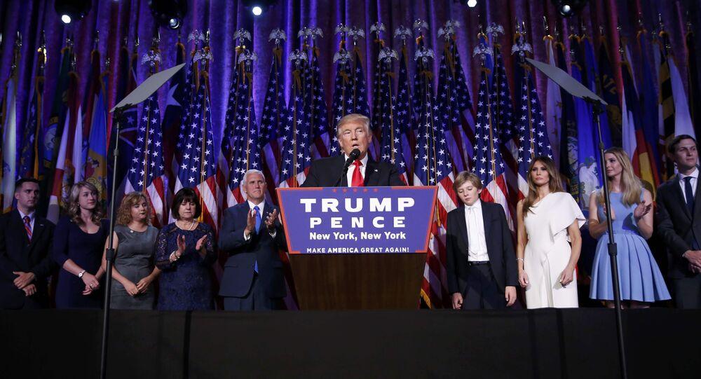 Donald Trump s'adresse à ses électeurs (vidéo)