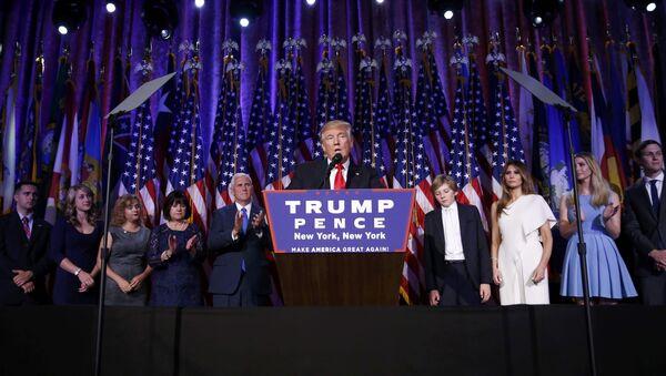 Le nouveau président américain Donald Trump - Sputnik France