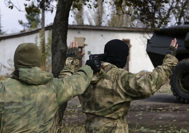 Un groupe de saboteurs ukrainiens projetant des attentats arrêté en Crimée