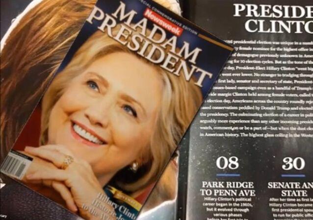 La Une de Newsweek annonçant la victoire d'Hillary provoque un tollé
